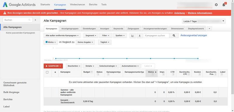 Google_AdWords_Kampagnenuebersicht_ohne_Werbung