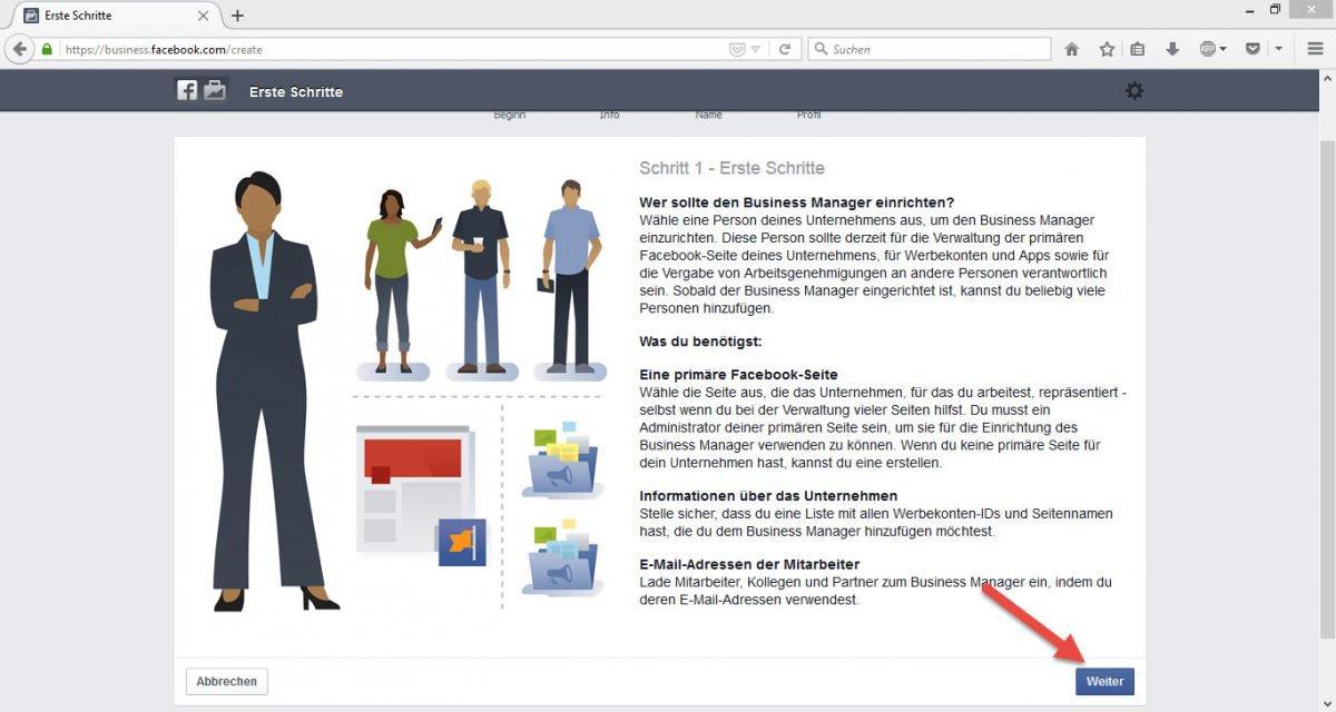 Facebook_Businessmanager_Erste_Schritte