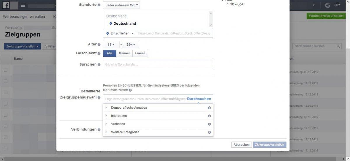Detaillierte-Zielgruppenauswahl-Facebook-targeting