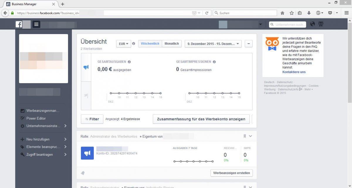 Facebook_Werbeanzeigenmanager_Uebersicht