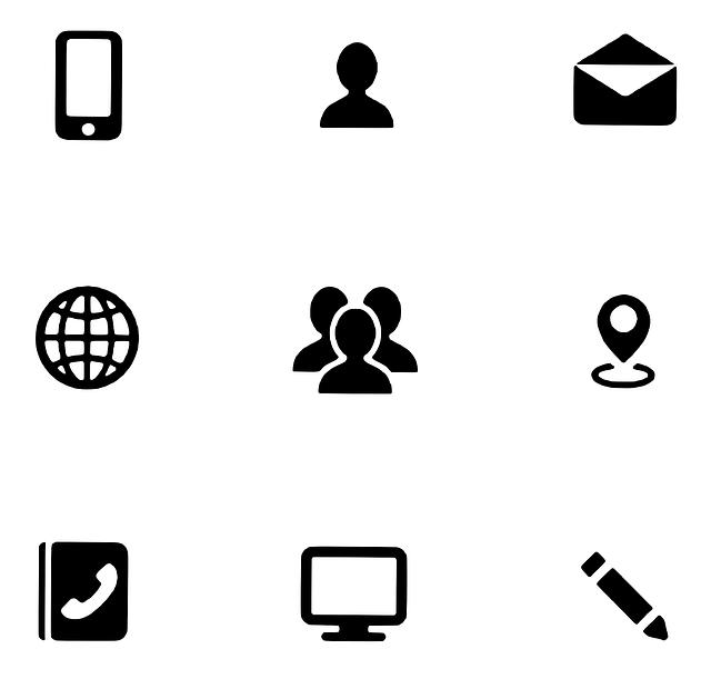 Icons Kontaktmöglichkeiten