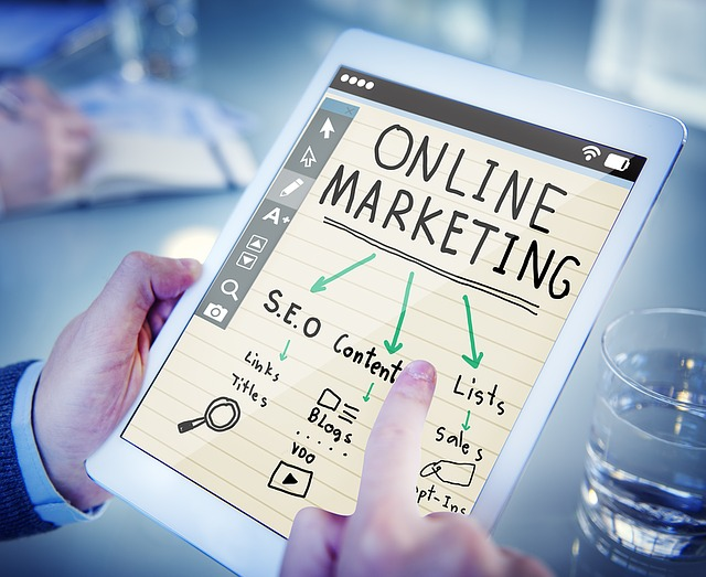 Grafik Online Marketing