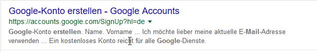 Google My Business Link Konto
