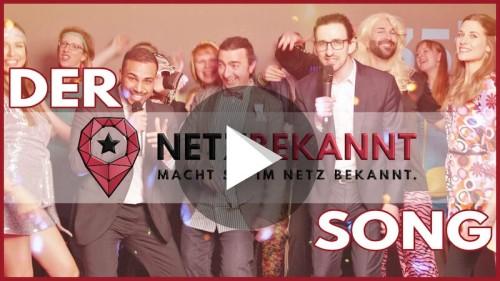 Netzbekannt macht Sie im Netz bekannt: Videopremiere des Netzbekannt-Songs
