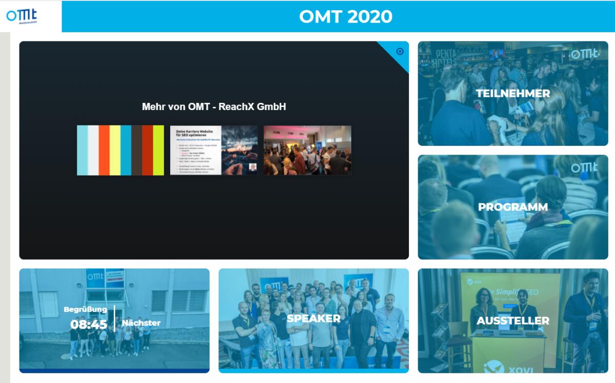 Virtuelle Konferenzen erster Klasse: Der OMT zeigt, wie es geht!